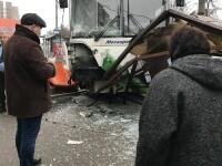 Un autobuz a intrat în plin în pietoni, în Moscova. Sunt cel puţin 3 răniţi