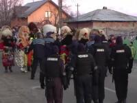Tradiționala bătaie de la Ruginoasa, oprită de sute de jandarmi. Sătenii au fost dezamăgiți crunt