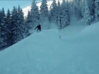 A nins în Poiana Brașov. Sezonul de iarnă s-a deschis oficial în stațiunile de munte