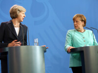 Mesajul transmis de Angela Merkel după victoria Theresei May