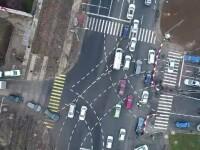 Premieră românească: autostrada ce se termină într-o trecere de pietoni. Reacţia şoferilor