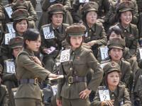Trei tinere din Coreea de Nord, prinse în timp ce fugeau în China. Ce vor păți