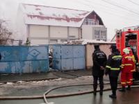 Descoperire șocantă făcută într-o casă din Brașov cuprinsă de incendiu