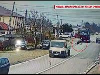Un bărbat a fost aproape să fie strivit de un TIR, în Argeș. Ce suspectează polițiștii