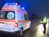 Doi copii din Sibiu au fost izbiți de o mașină pe trecerea de pietoni. Starea acestora