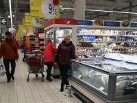 Viorica Dăncilă la cumpărături