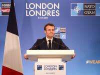 Un grup de protestatari din Franța a încercat să saboteze o ieşire la teatru a preşedintelui Macron