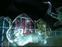 Berlinul a importat sculpturi de gheață gigantice, din China