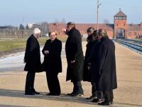 """Angela Merkel, prima vizită la Auschwitz: """"Este inseparabil de ţara noastră"""""""