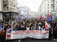 Cum gestionează Macron greva din Franța. Sindicatele avertizează că protestele vor continua
