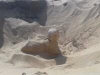 Arheologii egipteni au descoperit un nou Sfinx. Unde se află acesta
