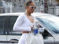 Jennifer Lopez, surprinsă în colanți după o sesiune la sala de fitness din Miami. GALERIE FOTO