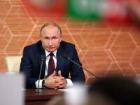 Putin a inaugurat o legătură feroviară între Crimeea anexată și Rusia Continentală
