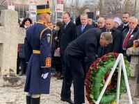 Omagiile aduse de Iohannis și Orban în memoria victimelor Revoluției de la 1989