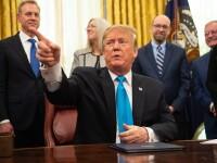 """Soluția """"realistă"""" a lui Trump la conflictul israeliano-palestinian: două state"""