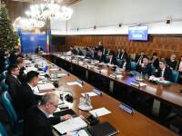 Şedinţa de Guvern a fost reluată. Alocarea unei sume pentru unităţi administrativ-teritoriale, pe ordinea de zi
