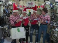Moș Crăciun a ajuns și la astronauții NASA. Ce cadouri inedite au primit