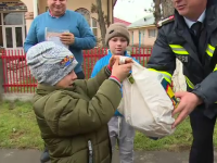 O familie din Galați a rămas fără casă, după un incendiu. Gestul impresionant al pompierilor
