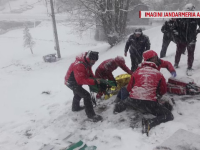 O turistă de 19 ani din Germania a căzut cu ATV-ul într-o râpă de 15 m, în Alba