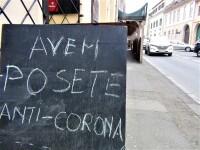 Patronul unui magazin din Sibiu își anunță clientele că \