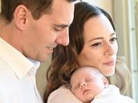 Fostul principe Nicolae al României și Alina Binder au publicat primele fotografii cu fetița lor nou născută