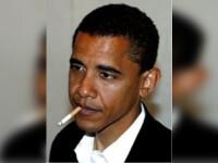 Fumator inrait, Barack Obama nu a fumat nicio tigara la Casa Alba