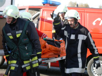 O persoana a murit si alte trei au fost ranite intr-un accident langa Cluj