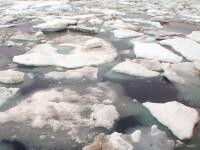 150 de pescari in pericol pe gheata lacului Erie din Ohio