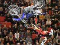 IMAGINI SOCANTE: Motociclist mort in timpul unei competitii de freestyle!