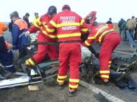 Grav accident pe A1!Unul dintre soferi a fost decapitat in urma impactului