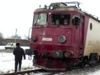 Si-a gasit sfarsitul sub rotile unei locomotive de manevra!
