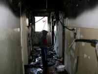 Gravida in 7 luni, si-a aruncat copiii de la balcon, ca sa-i scape de foc!