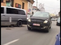 Surse din randul oficialilor Dacia: vehiculul filmat este un model Renault