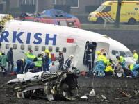 Avionul Turkish Airlines s-a prabusit din cauza unei defectiuni tehnice