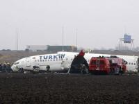 Turbulenta de siaj ar fi cauza prabusirii avionului Turkish Airlines