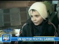 Gabriel, un baietel bolnav de leucemie are nevoie de ajutorul nostru!