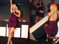 Paris Hilton, beata crita! La munca!