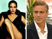 Angelina Jolie spune ca George Clooney este un betivan fustangiu!