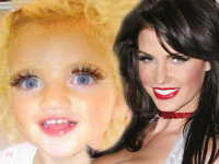 Jordan isi machiaza fetita de doi ani! Vrea ca micuta sa-i semene leit!