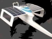 Prima barca propulsata exclusiv cu energie solara se pregateste de lansare