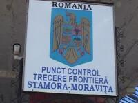 Trei migranti au fost prinsi de politistii de frontiera din Moravita in timp ce incercau sa intre ilegal in Romania, pe camp