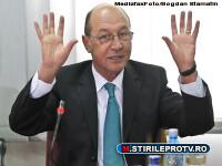 Basescu, despre coruptia din vami: Regina se afla printre liderii sindicali