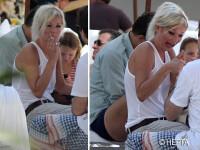 Drogurile si alcoolul pe chipul lui Kate Moss. Ridata si imbatranita. FOTO