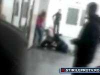 Bataie intre fete, la Liceul Pedagogic din Turnu Severin. VIDEO