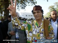 Fiul lui Gaddafi, dupa un trai in puf: