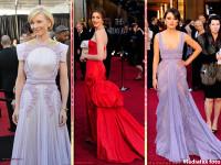 "Cele mai frumoase rochii. Rosul si culorile pale, ""vedete"" la Oscar. FOTO"