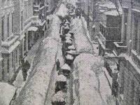 Nameti de 5 metri si tancuri batatorind zapada. Iarna din 1954, cea mai grea din istoria Romaniei