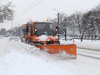 Situatia drumurilor din judetul Cluj. Circulatia se desfasoara in conditii de iarna