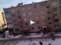 VIDEO. O scena de cosmar, care ar putea sa aiba loc oricand si in Romania