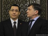Antonescu, intrebat de ce Ungureanu l-a sunat pe Ponta, nu si pe el: Poate se simteau mai apropiati